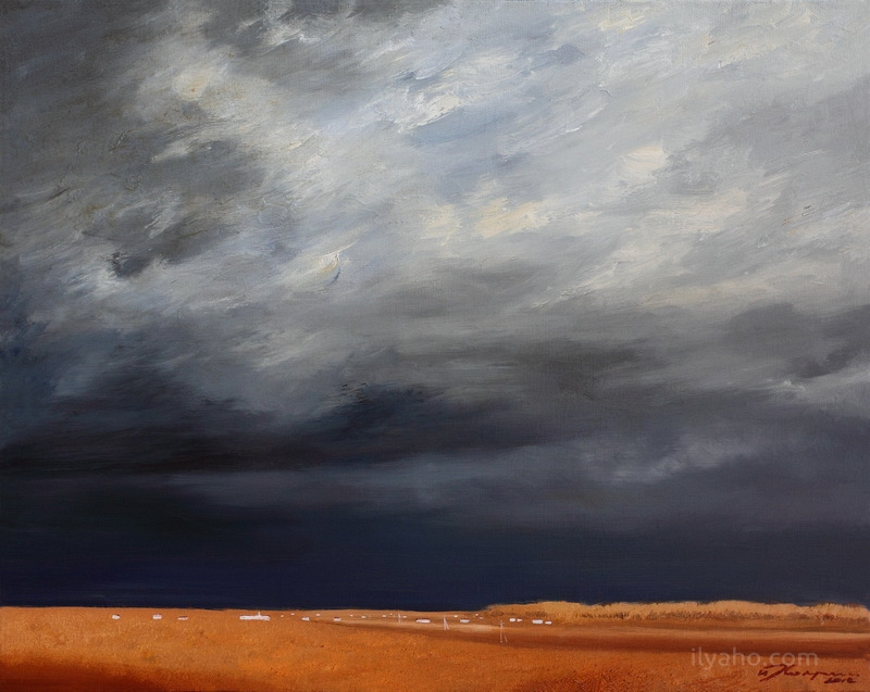 Before the storm (40x50cm) 2012
