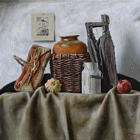 The rustic still life (60x75cm) 2014